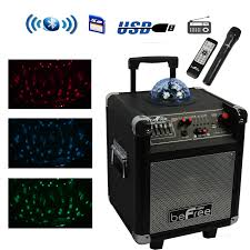 Befree Sound Triple 10 Subwoofer With Party Lights Pro Audio Pro Audio Chanx W2bshop Com