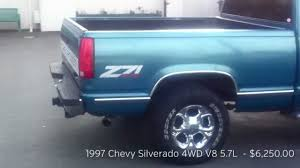 1997 Chevy Silverado V8 5.7L 4WD Z71 FOR SALE $5,250.00 - YouTube