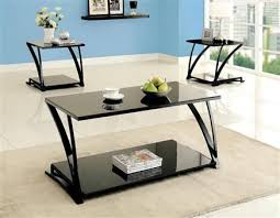 Tamori Black Coffee Table Set