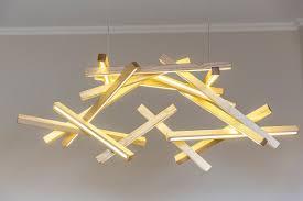 led wooden chandelier led lamp wood lamp modern home deco unique design lighting modern wood lamp big size chandelier next level studio