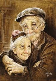Photo Von Einem älteren Ehepaar Puzzles In 2019 Altes Ehepaar