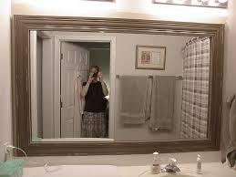 bathroom mirror frame. Great Reclaimed Wood Bathroom Mirror Doherty House Frame