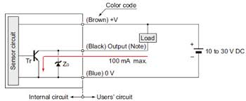 compact low price inductive proximity sensor gl i o circuit and gl 18h 18hl type i o circuit diagram