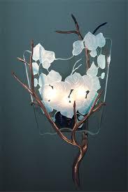 art glass lighting fixtures. custom fused etched art glass chandelier lighting fixtures