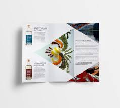 Spices Brochure Design Trifold Geometric Pamphlet Design Our Collaborations With