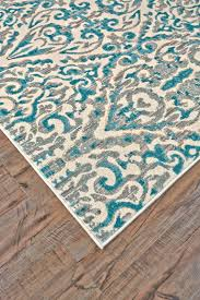 feizy keats turquoise 2 2 x 4 rug