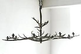 tree branch chandelier lighting iron modern cherry blossoms led light firefly ceiling