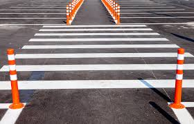 parking lot line painting road marking