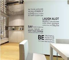 rules wall art decals quotes