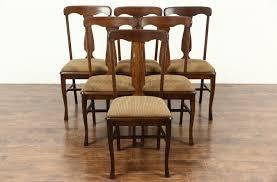 antique dining room chairs oak. Plain Antique Antique Dining Chairs Set Of 6 Antique 1900 Quarter Sawn Oak Dining Chairs  BLCTUXZ On Room Oak Home Decor  Interior Design Ideas