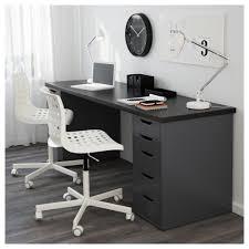 ikea black furniture. IKEA LINNMON Tafelblad Met Een Lang Werkblad Creëer Je Makkelijk Werkruimte Voor Twee. Ikea Black Furniture