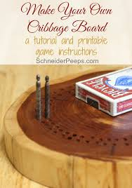 such a simple and meaningful gift handmade cribbage boards will quickly become a family heirloom