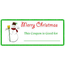 Coupon Book Template For Parents Babysitting Naveshop Co