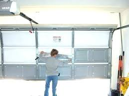new garage door cost how to install a new garage door garage door openers installed cost