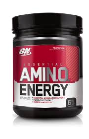 optimum nutrition essential amino energy fruit fusion preworkout and essential amino acids with green
