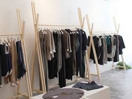 DIY Your Own Super-Sleek Clothing Rack With Szeki Chan | handmade |  Pinterest | Front doors, Shelves and Clothes racks