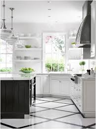 black white kitchen floor tile inspire and diamond pattern transitional