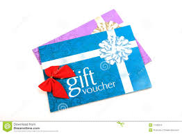 gift vouchers colored hearts great for valentine s day s gift vouchers royalty stock photo