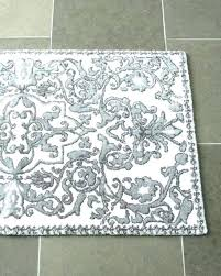 grey bathroom rugs rug runner remarkable gray and white bath dark small silver b