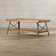 Delightful Industrial Coffee Tables Youu0027ll Love | Wayfair Good Looking