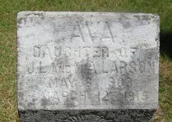Ava Larson (1903-1915) - Find A Grave Memorial