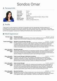 Sample Resume For Marketing And Sales Manager Valid Sample Resume