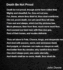 novel death be not proud mrs nadine siciliano image result for john donne image result for death be not proud poem metaphysical poet