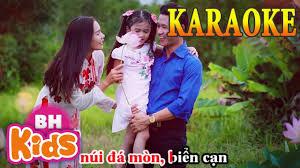 KARAOKE - Ba Mẹ Cho Con - Nhạc Thiếu Nhi Karaoek Beat Chuẩn - YouTube