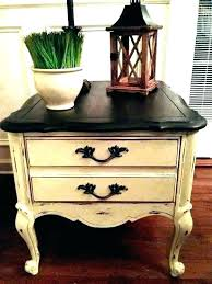 end table with drawers small side table with drawers end tables drawer distressed accent table white