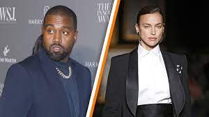 Kanye West met zijn nieuwe topmodel ...