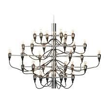 gino sarfatti 2097 chandelier 30 lamp