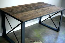 industrial style office desk modern industrial desk. Delighful Industrial Industrial Office Desk Modern Small  Home Style In  On T