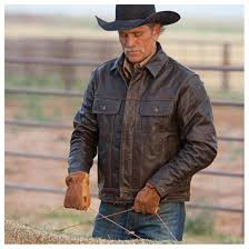 men s maverick leather jacket from sts ranchwear brown