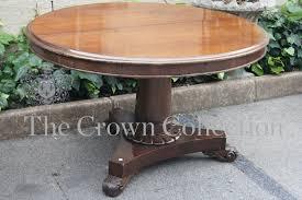 victorian mahogany round centre table diameter