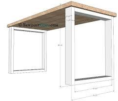 Wooden Wood Desk Plans DIY blueprints Wood desk plans Desks Build furniture  with ease with free desk plans The truth is we ve all found The design  creates ...