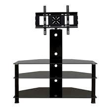 promounts 3 glass shelf tv stand mountupto 60