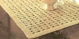 Free Crochet Table Runner Patterns Interesting Crochet Table Runner Patterns Easy Easy Crochet Runner Patterns