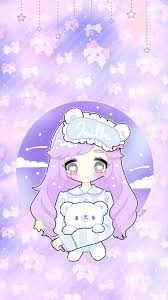 Here you can find the best kawaii anime wallpapers uploaded by our community. Kawaii Anime Purple Wallpaper