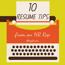 Resume Writing Tips Simple 28 Resume Tips From An HR Rep