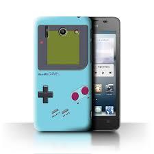 Huawei G510 Light Stuff4 Phone Case Cover Für Huawei Ascend G510 Light Blue Design Video Gamer Gameboy Sammlung