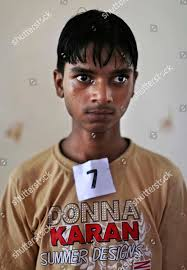 Frayer Boy Young Indian Bonded Child Laborer Jilali 14 Editorial Stock