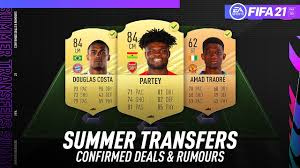 Amad diallo previous match for manchester united was against atalanta in serie a, and the match ended. Fifa 21 New Confirmed Summer Transfers Rumours W Partey Amad Traore Douglas Costa More Youtube