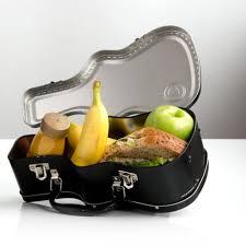 uk guitar novelty lunch box