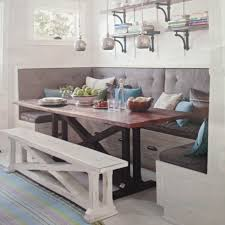 Image of: Kitchen Bench Seating with Storage Plans