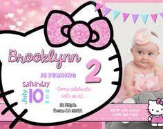 Hello Kitty Invitation Printable Hello Kitty Birthday Invitations Printable Free Invitation