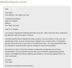 Sample Letter Of Credit Classy Sample Letter Dispute Judgement Credit Report Poemviewco
