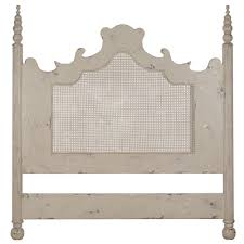 Shabby Chic Headboard Shabby Chic Headboard With Caning