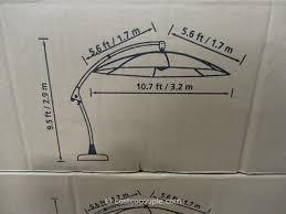 11 foot parisol cantilever umbrella costco 3
