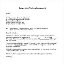 Employment Verification Letter 14 Download Free Documents