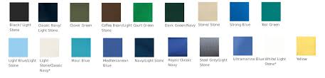 Port Authority Color Chart Port Authority Long Sleeve Easy Care Shirt S608